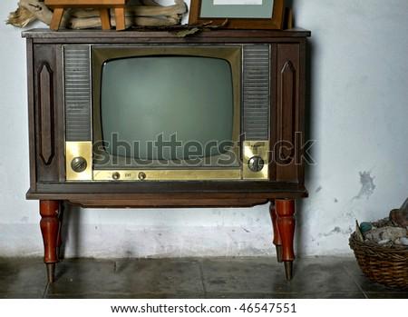 Vintage television #46547551