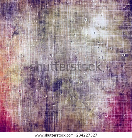 Vintage texture with space for text or image, grunge background. With different color patterns: blue; brown; purple (violet); gray