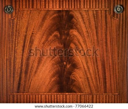 Vintage textured wooden background - stock photo
