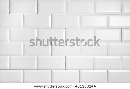 vintage tiled wall - Shutterstock ID 481188244