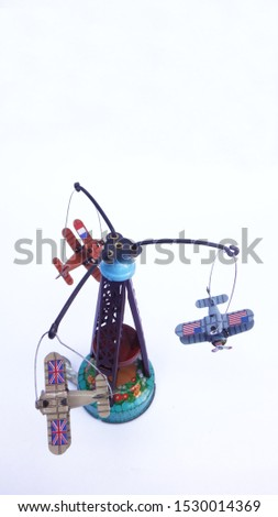 vintage tin toys of collectible items #1530014369
