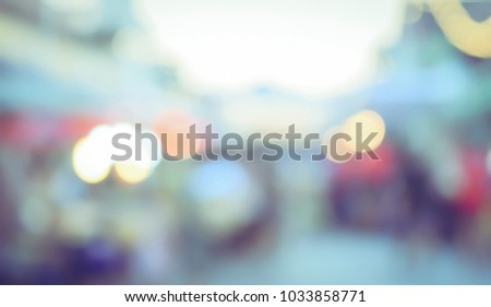 Vintage tone blurred defocused light bokeh abstract background