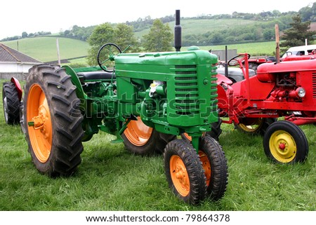 vintage tractor