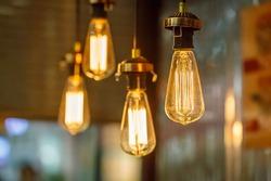 vintage tungsten lightbulbs