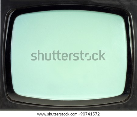 Vintage TV screen. Use for background or texture
