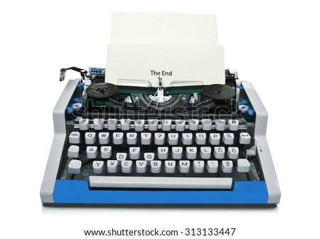 8b71126e0f9 Vintage typewriter isolated | EZ Canvas