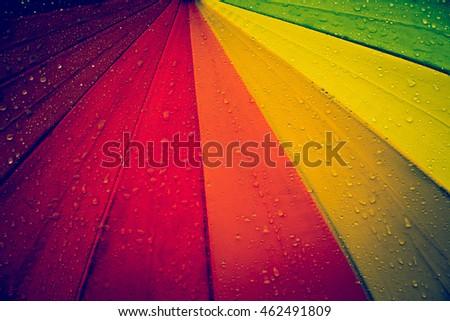 vintage umbrellas multicolored...