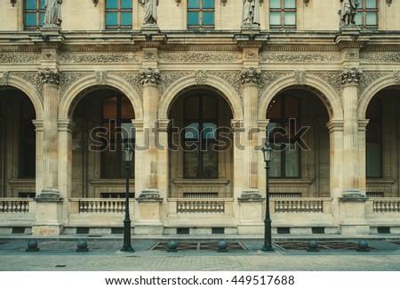 vintage victorian building...