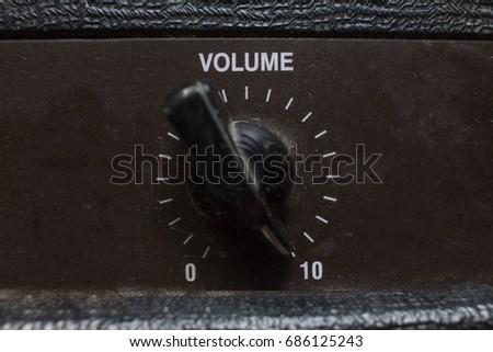 Vintage volume chicken head knob 10/10 level(maximum level) #686125243