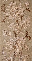 Vintage wallpaper with floral pattern. Fragment