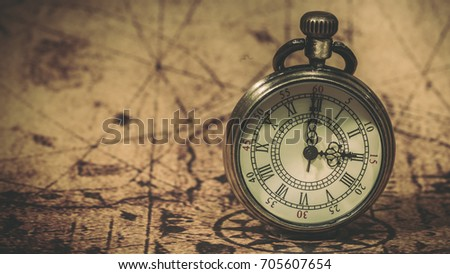 Free photos antique compass and old world map vintage style vintage watch on ancient world map 705607654 gumiabroncs Gallery