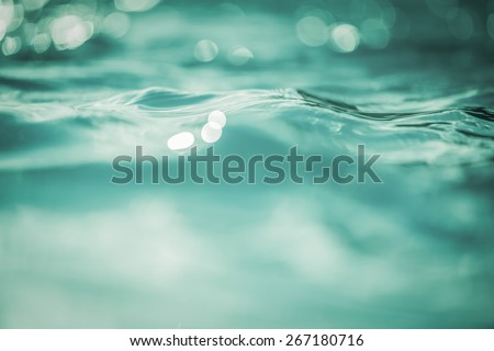 Vintage Water bokeh background
