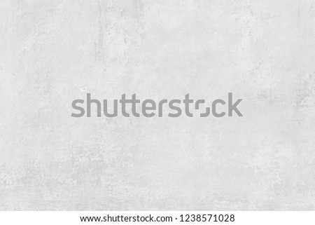 Vintage white cement texture background. Light soft grey pattern of concrete surface.