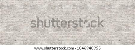 vintage white wash brick wall...