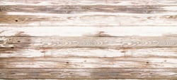 Vintage white wood texture background, old wooden table top view