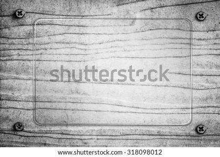 Vintage White Wood Texture For Background