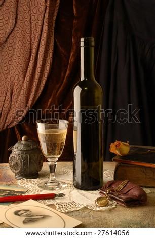 Vintage wine and memories