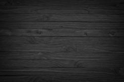 Vintage wood background black texture old plank. dark wooden surface