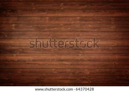 vintage wood panels - stock photo