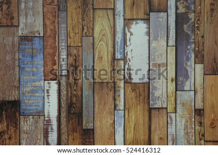Vintage wood wallpaper #524416312
