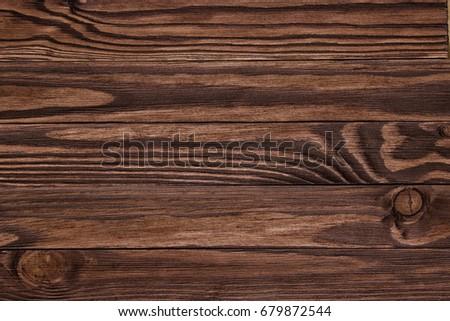 vintage wooden board background Natural material Grunge wood panels  #679872544