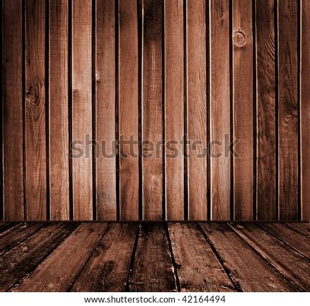 vintage wooden interior
