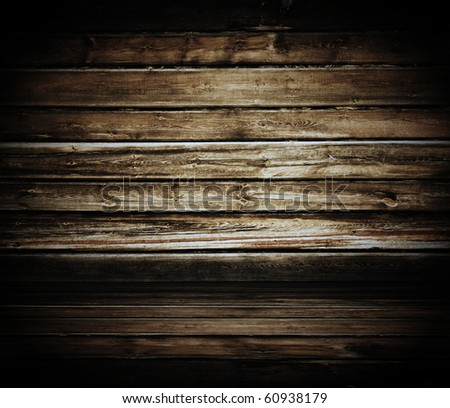 vintage wooden room