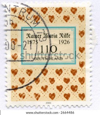 Vintage World Postage Stamp Ephemera germany(editorial)