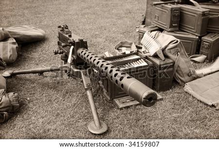 Machine Gun Ammo Box Machine Gun And Ammo Boxes
