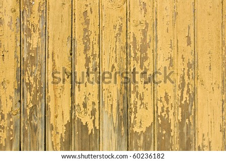 vintage yellow weathered wooden background