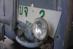 Vintagerear light car