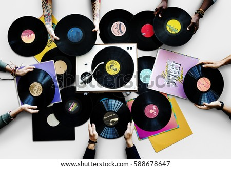 Vinyl Albums Analog Audio Entertainment #588678647