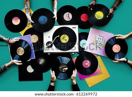 Vinyl Classic Vintage Music Record #612269972