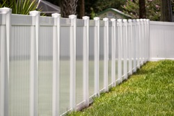 Vinyl Fence Solid Privacy