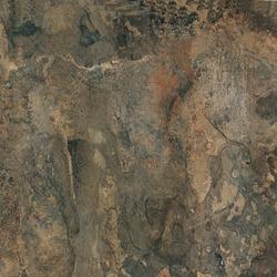 Vinyl floor tile with marbled texture