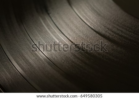 Vinyl record texture #649580305