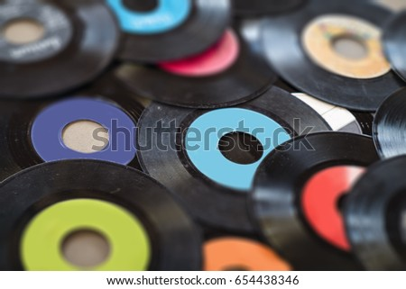 Vinyl Records Background #654438346