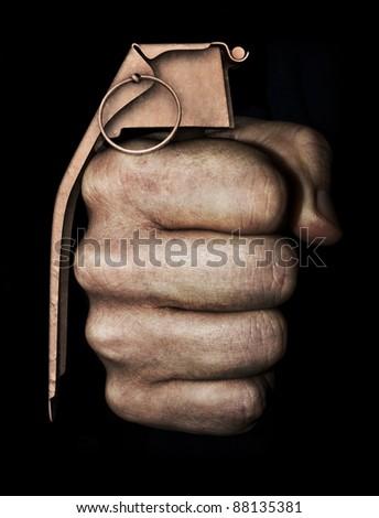 Violent acts - stock photo