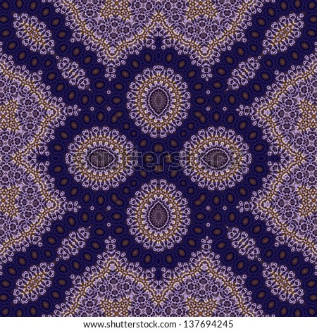 Violet, blue, orange, white intensive colors circle peas lace form natural photo quality seamless pattern for textile print, pillow, bandanna, sarong 2