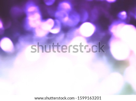 Violet bokeh abstract copy space background Stock fotó ©