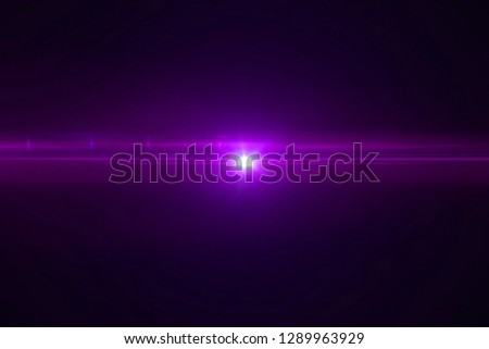 violet color bright lens flare pulse flashes leak for transitions on black background,movie titles and overlaying #1289963929