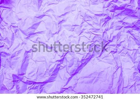 violet crumpled paper #352472741