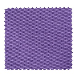 Violet fabric swatch with zig zag border cut with pinking shears