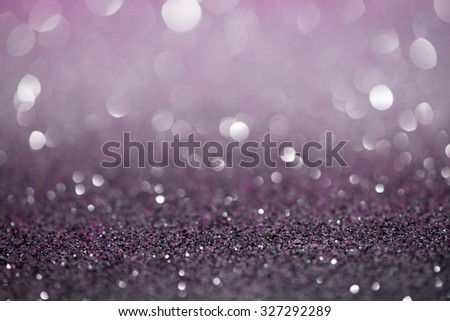 Violet Festive Christmas abstract bokeh background, shining lights, holiday sparkling atmosphere, celebration ambient