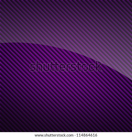 Violet glossy carbon fiber background or texture