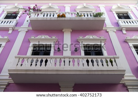 violet residential building...