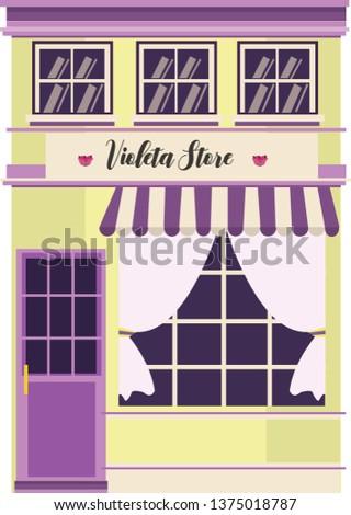 Violeta store illustration