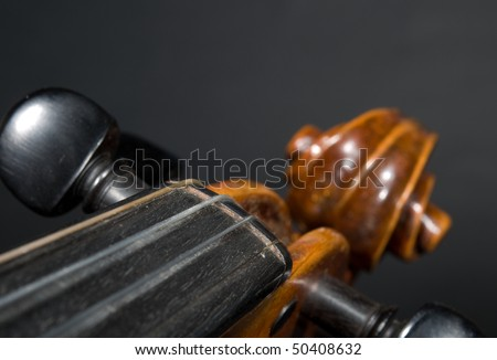 violin detail IV