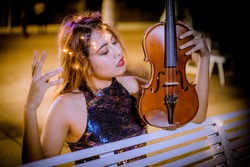 Violin music is magic music