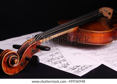 violin notes